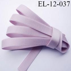 Elastique bretelle 12 mm lingerie couleur lilas brillant superbe  très belle qualité haut de gamme largeur 12 mm  prix au mètre