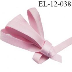 Elastique bretelle 12 mm lingerie couleur rose brillant superbe  très belle qualité haut de gamme largeur 12 mm  prix au mètre