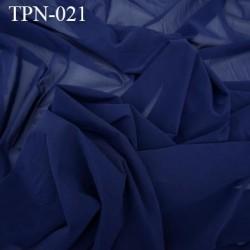 Powernet spécial lingerie extensible  couleur bleu marine haut de gamme largeur 160 cm prix pour 10 cm longueur