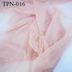 Powernet spécial lingerie extensible  couleur chair rosé haut de gamme largeur 140 cm prix pour 10 cm longueur
