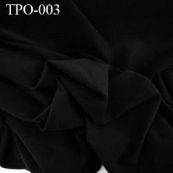 Tissu Polaire couleur noir haut de gamme largeur 160 cm poids 300 grs au m2 prix pour 10 cm de longueur