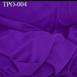 Tissu Polaire couleur violet clair haut de gamme largeur 160 cm poids 300 grs au m2 prix pour 10 cm de longueur