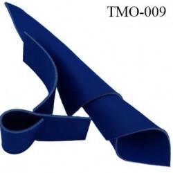 mousse de coque de sg lingerie très haut de gamme couleur bleu roi largeur 145 cm épaisseur 3 mm  prix pour 10 cm par 145 cm