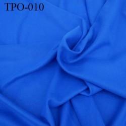 Tissu Polaire  couleur bleu haut de gamme largeur 160 cm poids 200 grs au m2 prix pour 10 cm de longueur