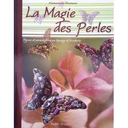 la magie des perles  bijoux et accessoires en tissage et broderie livre revue