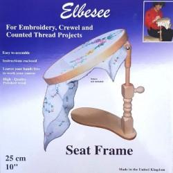 métier à broder réglable sous cuisse ELBESSE table cadre à broder pour tapisserie