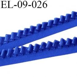 élastique lingerie 9 mm couleur  bleu trop beau magnifique fabriqué en France largeur 9 mm  prix au mètre