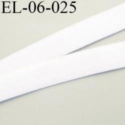 élastique 6 mm bretelle et lingerie doux largeur 8 mm couleur écru ou naturel grande marque fabriqué en France  prix au mètre