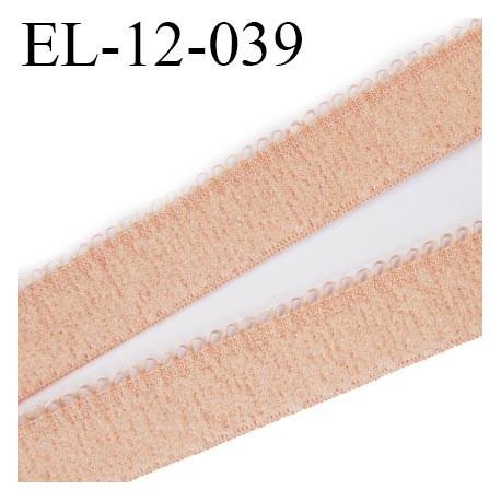 élastique lingerie picot 12 mm couleur rosé chair grande marque fabriqué en France largeur 12 mm  prix au mètre