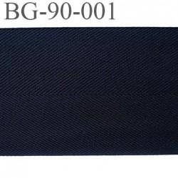 galon ganse Biais sergé 50 mm fabriqué en France couleur noir très belle qualité largeur synthétique 90 mm prix au mètre