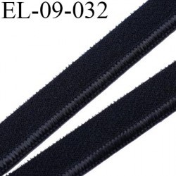 élastique lingerie 9 mm couleur noir belle élasticité grande marque fabriqué en France largeur 9 mm  prix au mètre