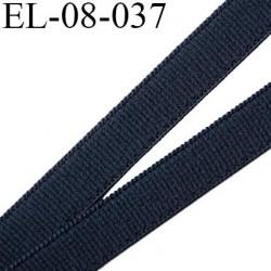 élastique lingerie 10 mm petit grain couleur gris granit grande marque fabriqué en France largeur 10 mm  prix au mètre