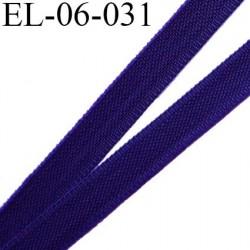 Elastique 6 mm fin spécial lingerie polyamide élasthanne couleur violet largeur 6  mm prix au mètre