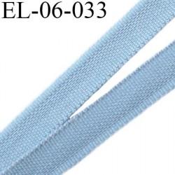 Elastique 6 mm fin spécial lingerie polyamide élasthanne couleur gris sylver largeur 6  mm prix au mètre