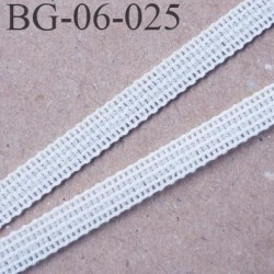 Droit fil a plat 6 mm spécial lingerie couleur naturel grande marque fabriqué en France très  agréable au touché prix au mètre