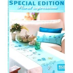broderie impressions floral RICO design édition spéciale livre revue