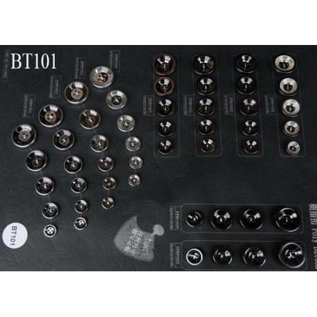 plaque de 51 boutons pour création unique