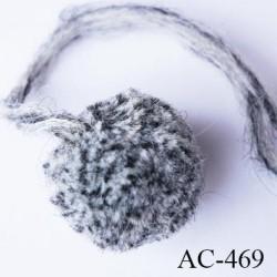 ponpon 35 mm couleur gris diamètre 35 mm prix à la pièce