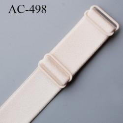 Bretelle 25 mm lingerie SG couleur blush haut de gamme grande marque  finition 2 barettes  prix a la pièce