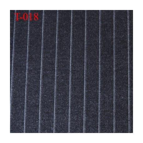 Tissu laine et jersey très haut de gamme largeur 150 cm poids au m2 300 grs prix pour 10 cm de longueur et 155 cm de largeur