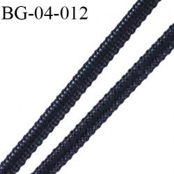 Galon Droit fil a plat 4 mm spécial lingerie couleur noir grande marque fabriqué en France très agréable au touché prix au mètre