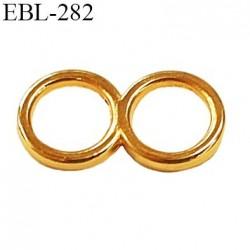 double anneau métallique 6 mm doré or pour lingerie diamètre intérieur 6 mm prix à l'unité haut de gamme