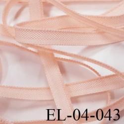 Elastique 4 mm fin spécial lingerie polyamide élasthanne couleur rose gazelle fabriqué en France largeur 4  mm prix au mètre