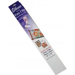 ELBESSE metier à tapisserie à broder  rotatif 30 X 30 cm facile à clipser en bois