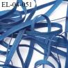 Elastique 4 mm fin spécial lingerie polyamide élasthanne couleur bleu profond fabriqué en France largeur 4  mm prix au mètre