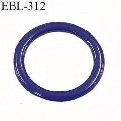 anneau métallique 12 mm plastifié bleu violet brillant pour soutien gorge diamètre intérieur 12 mm prix à l'unité haut de gamme