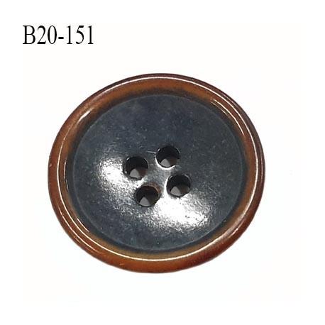 bouton 20 mm  pvc très haut de gamme couleur anthracite et couleur bois en bordure 4 trous diamètre 20 millimètres