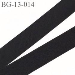 biais à plier 13 mm galon couleur noir synthétique aspect comme le coton largeur 13 mm prix au mètre