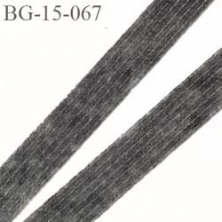 bande thermocollant 15 mm renforcé pour vos réalisations couleur gris largeur 15 mm facile à coller collage fort prix au mètre