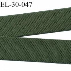 élastique 30 mm spécial, sport  caleçon forte élasticité fabriqué en France agréable au touché prix au mètre