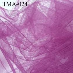 marquisette tulle spécial lingerie haut de gamme couleur violet largeur 105 cm prix pour 10 cm