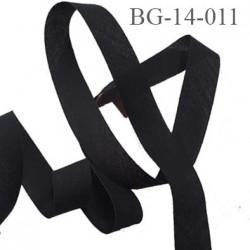 biais à plier 14 mm galon couleur noir synthétique aspect comme le coton largeur 14 mm prix au mètre