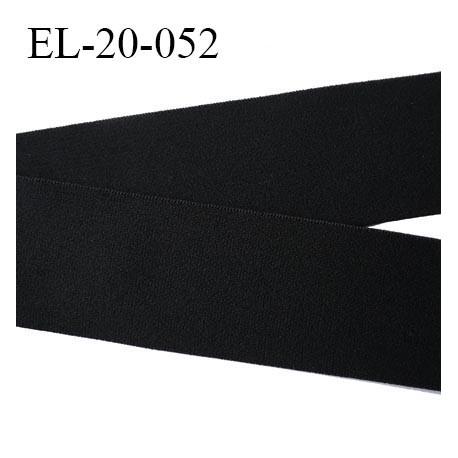 Elastique 20 mm bretelle bande soutien sg et lingerie noir doux Fabriqué en Europe Certifié Oeko tex largeur 20 mm prix au mètre