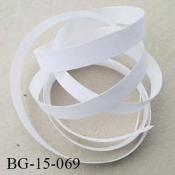 bande thermocollant 15 mm collage une face renforcé couleur naturel largeur 15 mm facile à coller collage fort prix au mètre