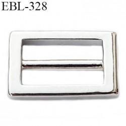boucle de réglage 12 mm  réglette métal couleur chromé pour soutien gorge largeur intérieur 12 mm  haut de gamme