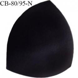 Coque triangle taille bonnet 80/95 couleur noir haut de gamme prix à la pièce