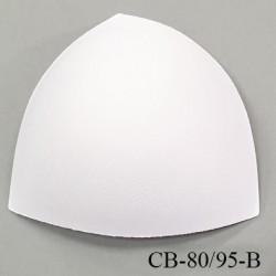 Coque triangle taille bonnet 80/95 couleur blanc haut de gamme prix à la pièce