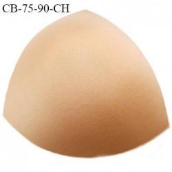 Coque triangle taille bonnet 75/90 couleur chair haut de gamme prix à la pièce