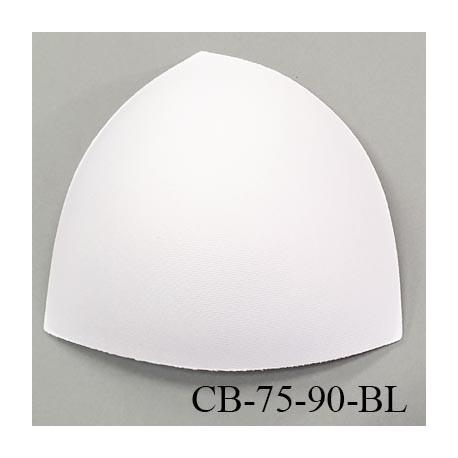 Coque triangle taille bonnet 75/90 couleur blanc haut de gamme prix à la pièce