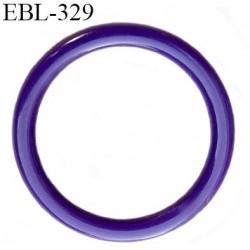anneau de réglage 16 mm en pvc couleur violet  diamètre intérieur 16 mm  diamètre extérieur 20 mm épaisseur 2 mm