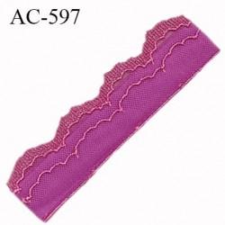 Devant attache bretelle haut de gamme une grande marque Française pivoine très très joli longueur 13.2 cm hauteur 25 mm