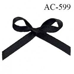 Noeud 32 mm lingerie couleur noir haut de gamme largeur 32 mm hauteur 25 mm haut de gamme
