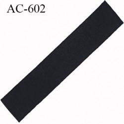 Devant attache bretelle haut de gamme une grande marque Française noir légèrement brillant longueur 12.7 cm hauteur 25 mm