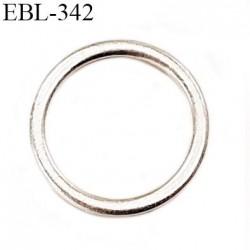 Anneau 12 mm en argent vernis  brillant  pour soutien gorge diamètre intérieur 12 mm prix à l'unité haut de gamme