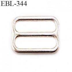 boucle de réglage 8 mm  réglette en argent vernis pour soutien gorge largeur intérieur 8 mm  haut de gamme