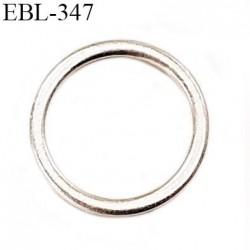 Anneau 7 mm en argent vernis  brillant  pour soutien gorge diamètre intérieur 7 mm prix à l'unité haut de gamme